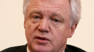 Former Conservative minister and shadow home secretary David Davis.