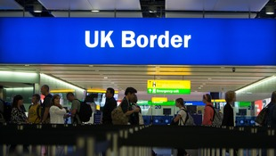 Figures show that 3,527 people disappeared after failing border checks last year.