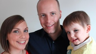 Rebecca, Gareth and Isabelle Wynne