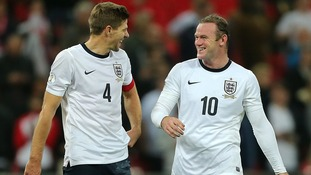 Wayne Rooney and Steven Gerrard.