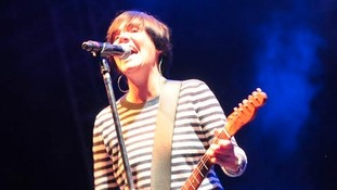 Sharleen Spiteri on stage