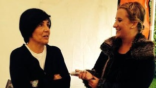 Sharleen Spiteri speaking to Rachel Sweeney