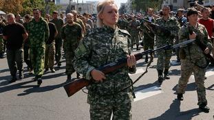 Ukrainian POWs