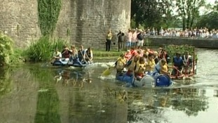 Wells Moat race in it's 13th year