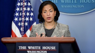 United States National Security Advisor Susan Rice