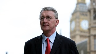 Hillary Benn says Labour would devolve more powers to local authorities.