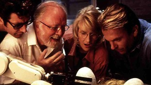 Richard Attenborough as Dr John Hammond in Jurassic Park.