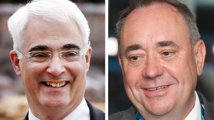 Salmond and Darling will debate from 8.30pm tonight.
