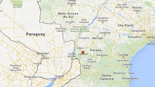 The riots are said to have taken place in Cascavel.