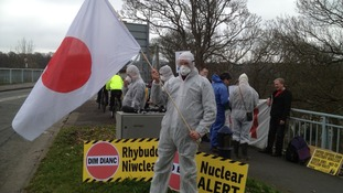 Nuclear protest