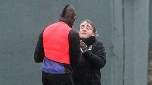 Roberto Mancini later said the scrap was