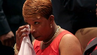 Michael Brown's mother Lesley McSpadden called her son 'a blessing.'