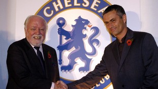 Richard Attenborough and Jose Mourinho