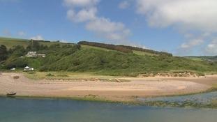 Bantham beach