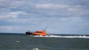 A Royal National Lifeboat Institution's (RNLI) lifeboat