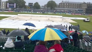 Washed out County Ground in Bristol