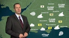 Meridian weather forecast with James Wright