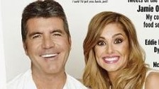 Simon and Cheryl on the cover of the Radio Times