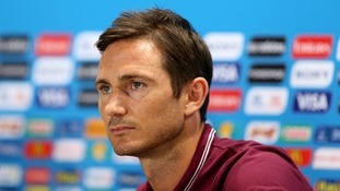 Frank Lampard retires from England duty