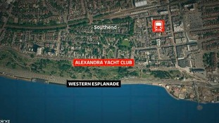 Alexandra Yacht Club at Southend.