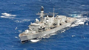 Plymouth warship HMS Argyll