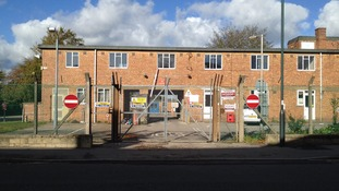 Security buildings for Foxhill MoD base (since demolished)