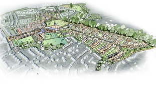 The masterplan for the former Foxhill estate