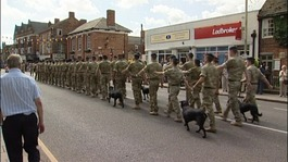 Homecoming parade for soldiers to take place today