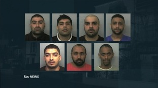 These seven men were convicted of charges involving rape and exploitation in Oxford