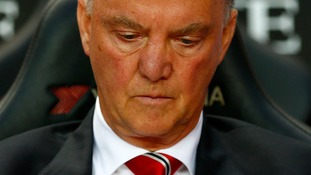 Louis Van Gaal is yet to record a competitive win with United.