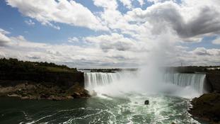 Niagara Falls tightrope walk