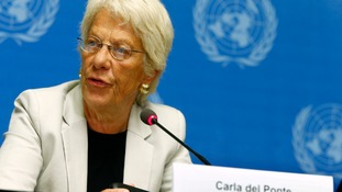 UN investigator Carla Del Ponte called for the war crimes in Syria to be referred to the international criminal court