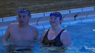 Emma, Sam and Andrea represent Team GB in swimming for the European Special Olympics