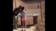 Gun instructor accidentally shot dead by 9-year-old girl