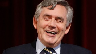 Former prime minister Gordon Brown.