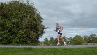 John Robson running