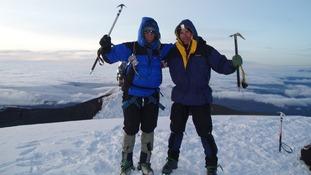John Robson mountaineering