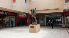 Liver Bird Statue