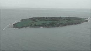 The island of 'Sveti Ivan'