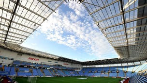 The Dean of Coventry wants to bless the Sky Blues' homecoming at the Ricoh arena next week