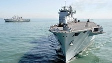 Decommissioning for HMS Illustrious - 32 years at sea