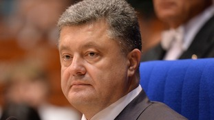 Petro Poroshenko said the Russian military had