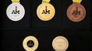 Invictus Games medals