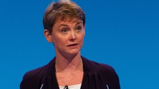 Yvette Cooper hit out at the Government over immigration.
