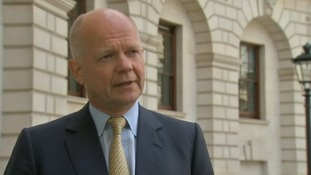 William Hague said only the Tories could offer voters a choice on EU membership.