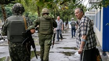 'Direct invasion' of Ukraine by Russian military
