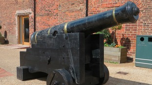 Cannon at Astley Hall