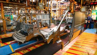 The Ford car plant