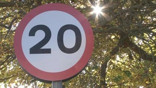 The scheme's costing £600,000 pounds and by 2016 all local roads should have the lower limit.