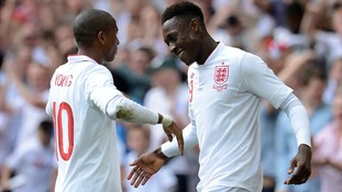 England Euro 2012 Danny Welbeck Ashley Young Sweden